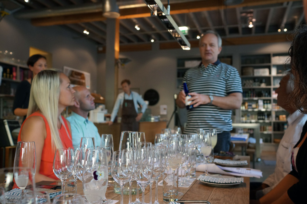 Brock Bennett from Nøgne Ø | Sake tasting by Cooking in Motion at Ostehuset | Norwegian Sake Association