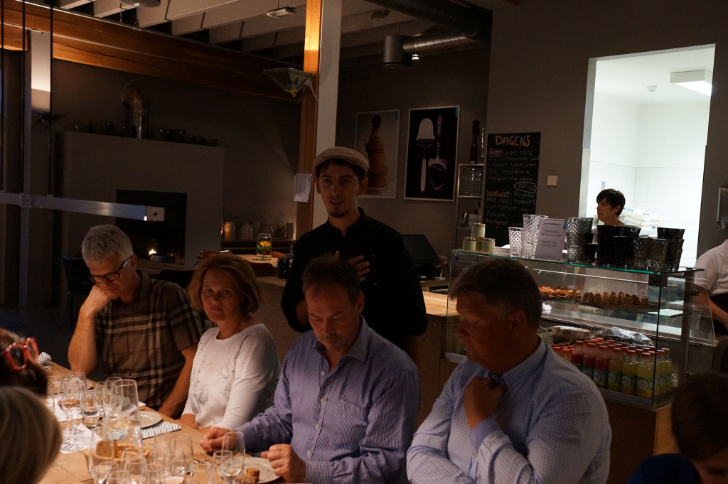 Sake tasting by Cooking in Motion at Ostehuset with Sussie Villarico and Sebastian Mazzola
