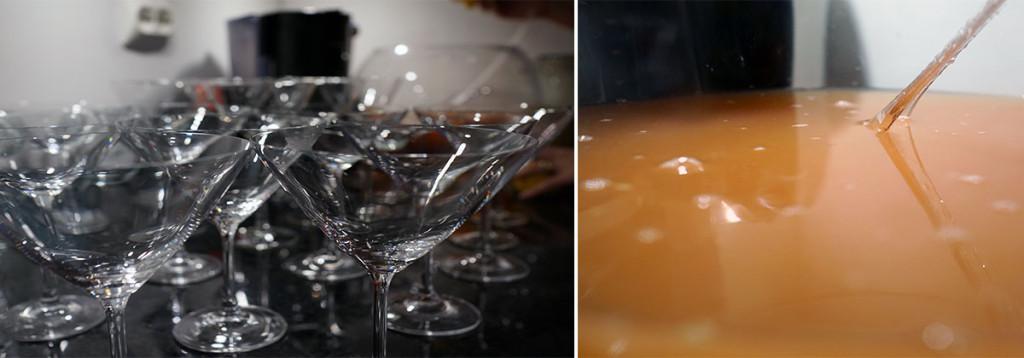 sake punch sake cocktail lemongrass grapefruit ginger