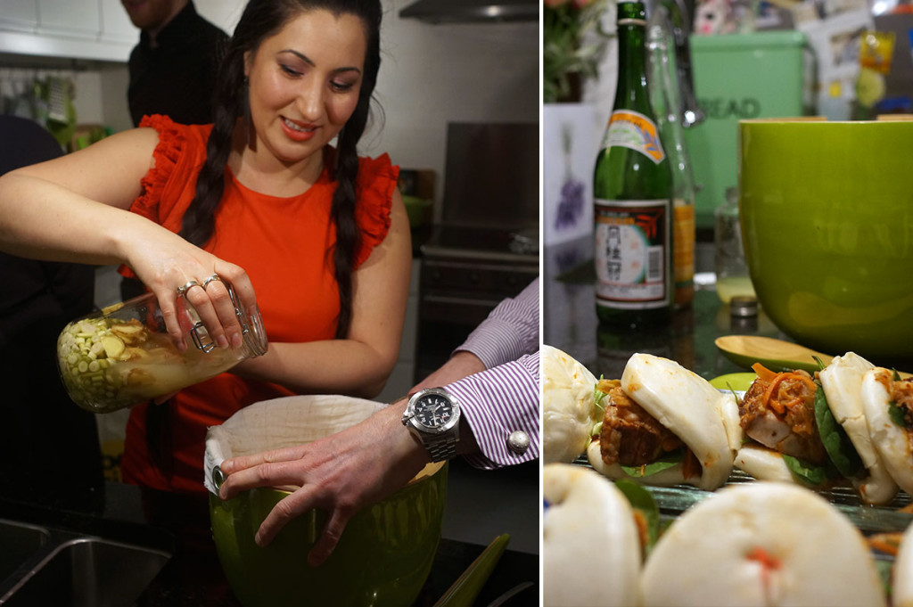 Lani Cantor Vatland, sake punch sake cocktail lemongrass grapefruit ginger
