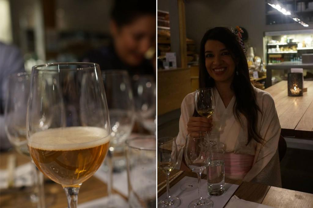 Ostehuset sake beer Stavanger Øst, Lani Cantor Vatland and Mabel Moya
