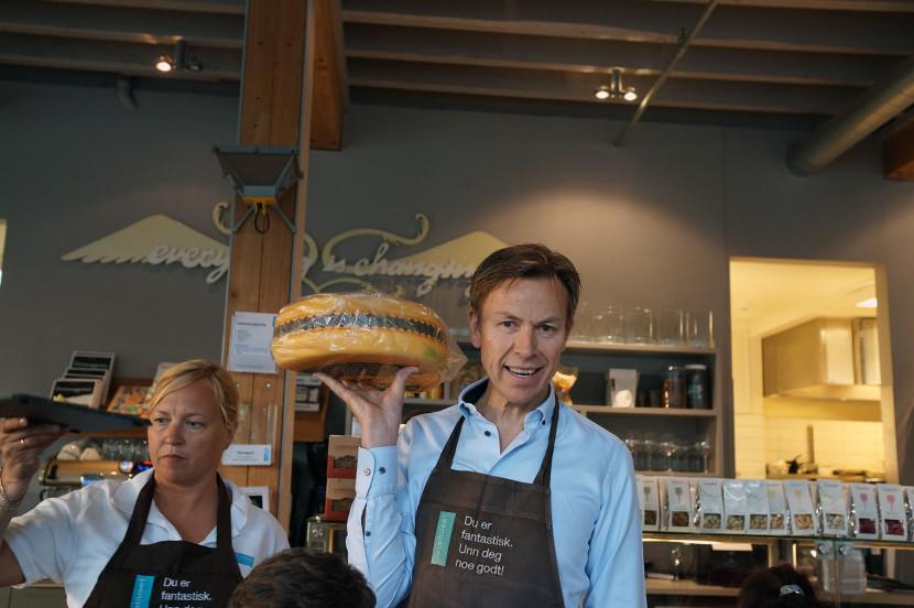 Tom Helge Sørensen | Sake tasting by Cooking in Motion at Ostehuset | Norwegian Sake Association
